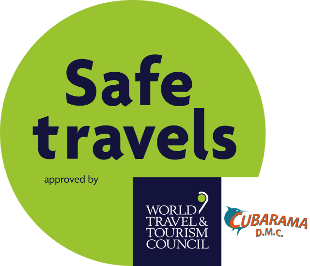 Recognized and approved by WTTC with the Safe Travels stamp
